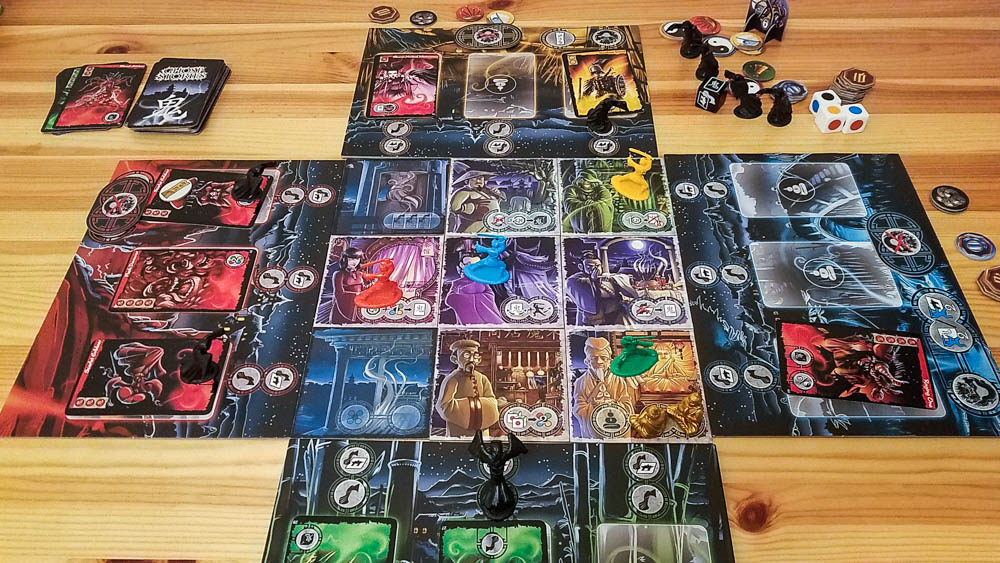 Ghost Stories review - 4 player game