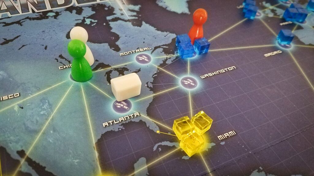Pandemic board game review - tricky situation