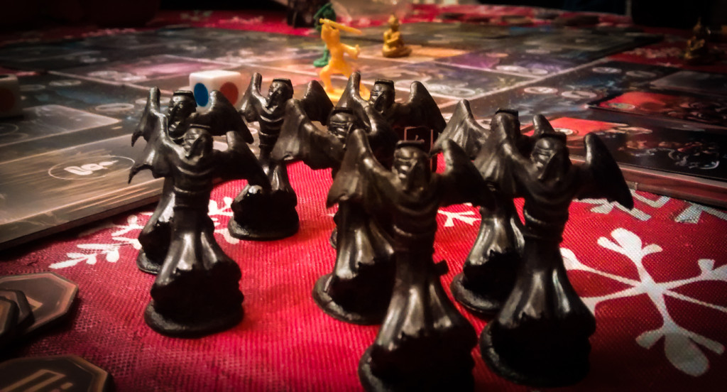 ghost stories board game haunters