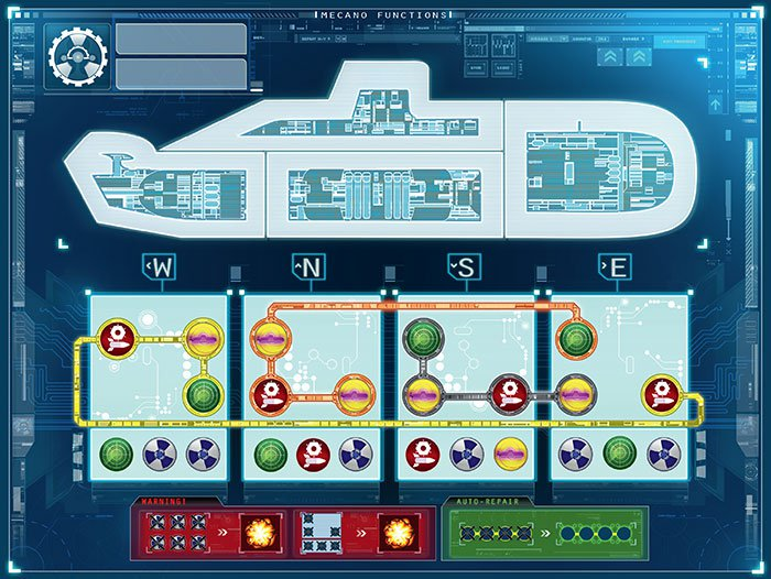 engineer map captain sonar