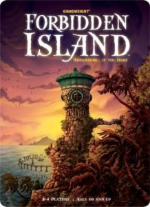 forbidden island board game cover