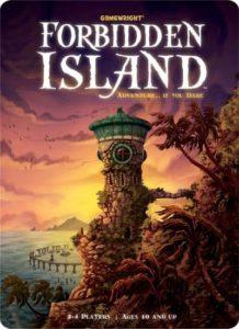 forbidden island board game cover