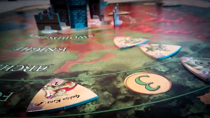 Castle Panic board game review - tile
