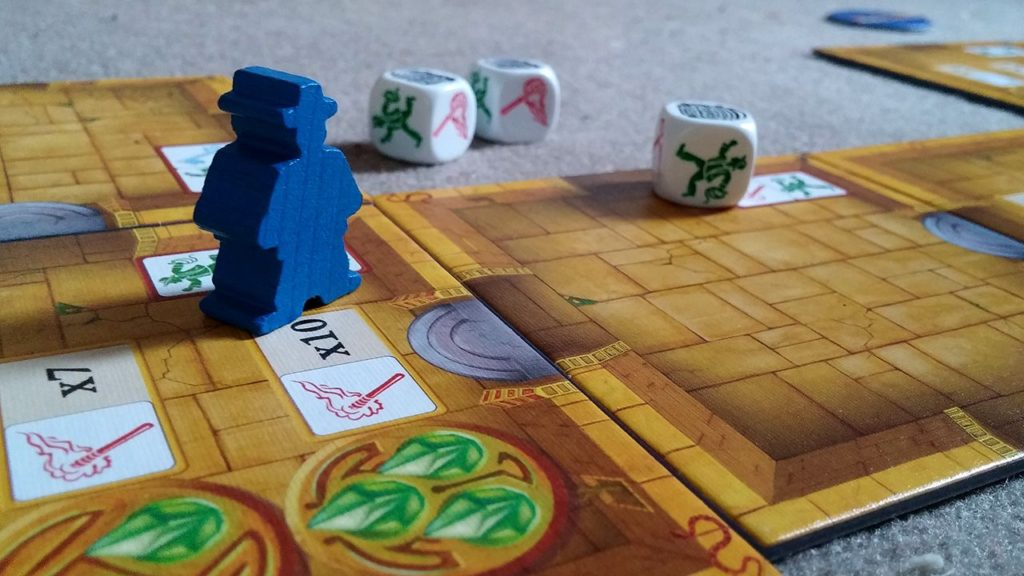 escape the curse of the temple board game review
