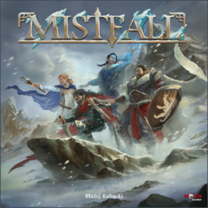 Mistfall board game review - cover