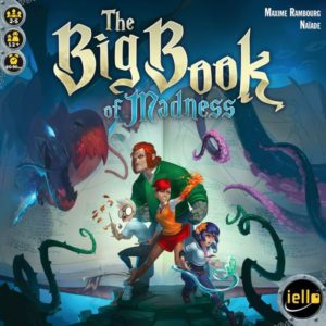 The Big Book of Madness board game review - cover