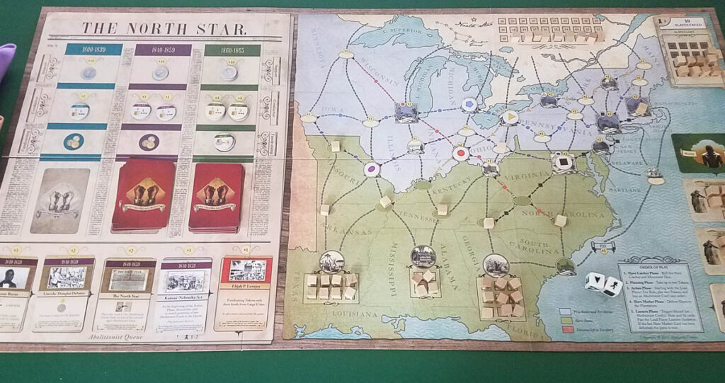 Freedom The Underground Railroad review - the board