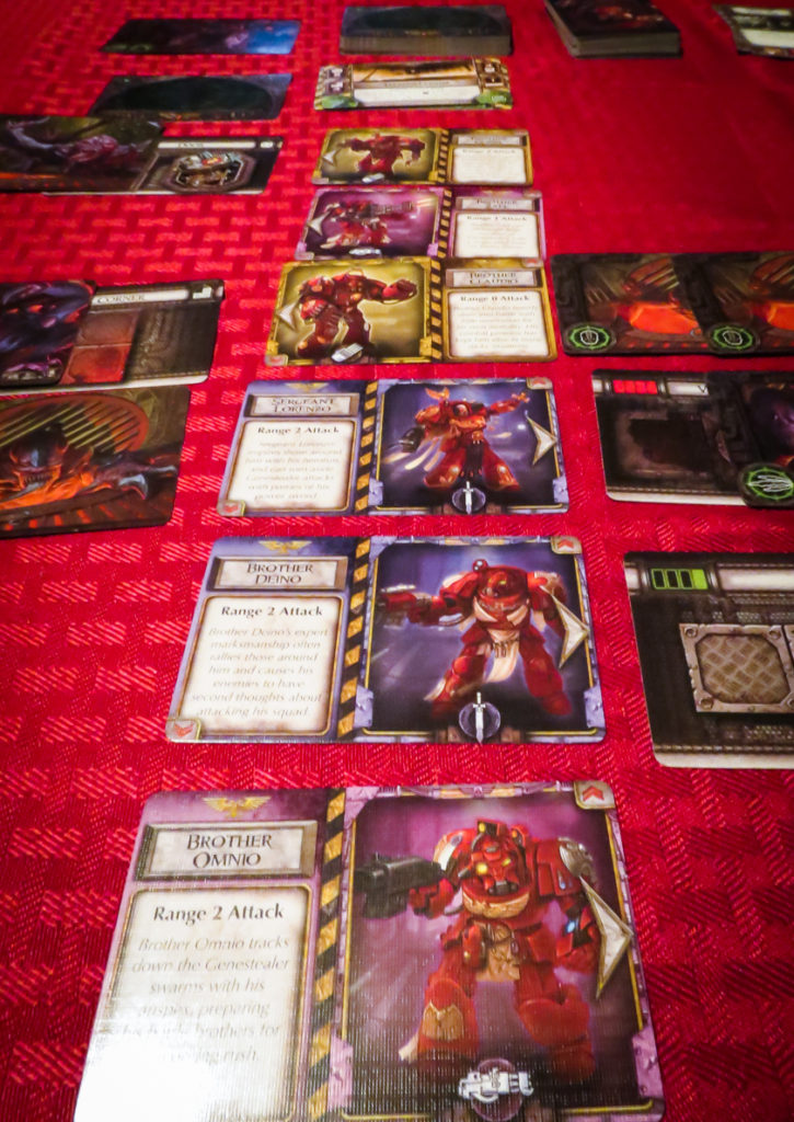 space hulk death angel cards
