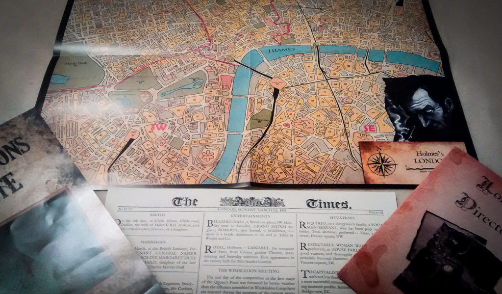 sherlock holmes consulting detective gameplay