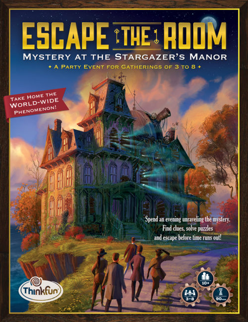 Escape the Room Mystery at the Stargazer's Manor review