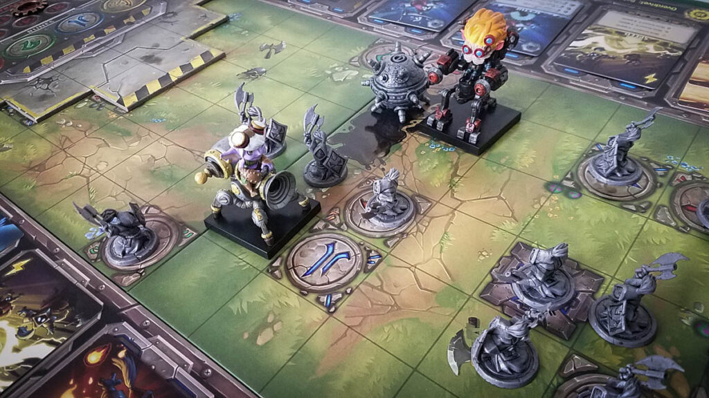 Mechs vs. Minions review - fighting minions