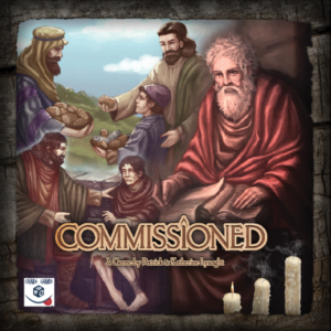 Commissioned board game review - cover