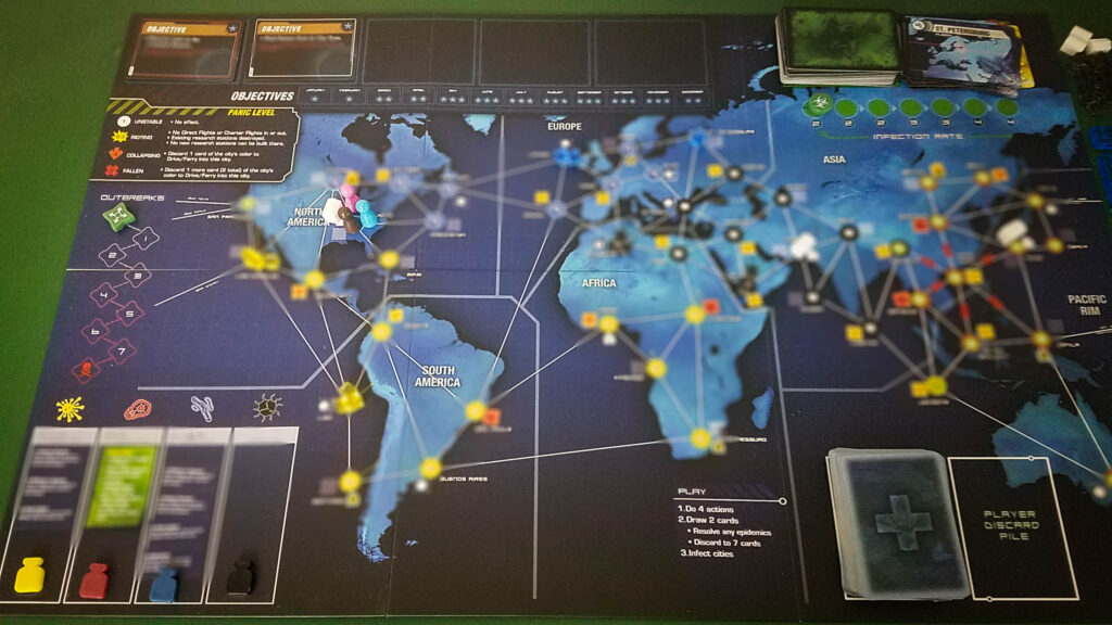 Pandemic Legacy Season 1 review - board (no spoliers)