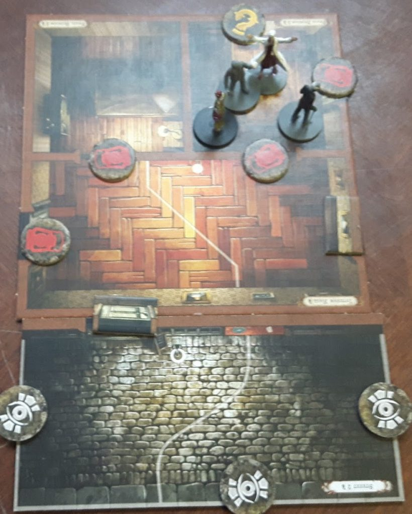 Mansions of Madness Second Edition setup