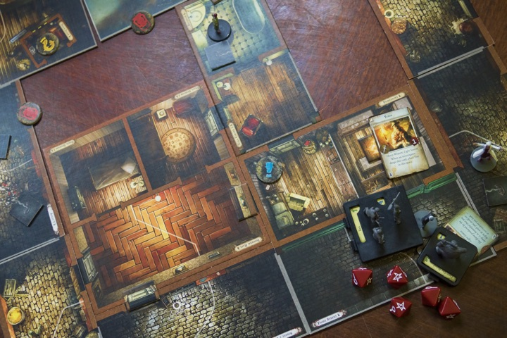 Mansions of Madness Second Edition mid game