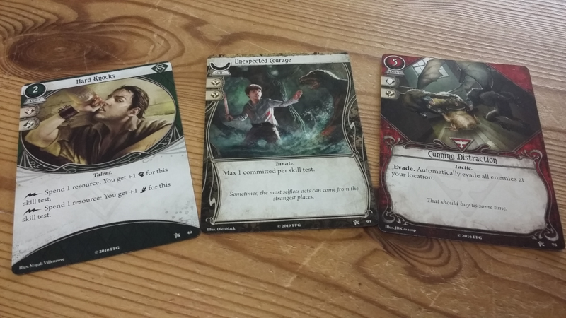 Arkham Horror: The Card Game review - Player cards