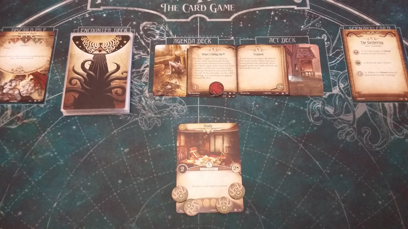 Arkham Horror: The Card Game review - Setup