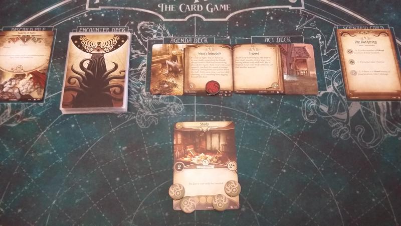 Arkham Horror: The Card Game review - Setup