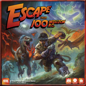 Escape from 100 Million B.C. board game review