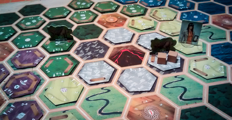 Escape from 100 Million B.C. review - tiles