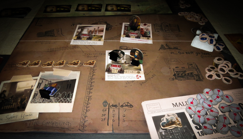Salvation Road review - board