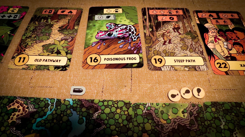 The Lost Expedition review - adventure cards