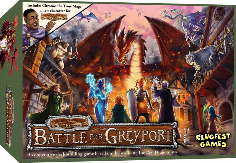 The Red Dragon Inn Battle for Greyport board game review