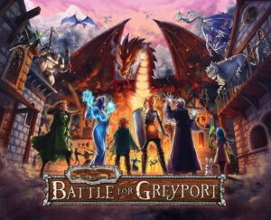 The Red Dragon Inn Battle for Greyport review - cover