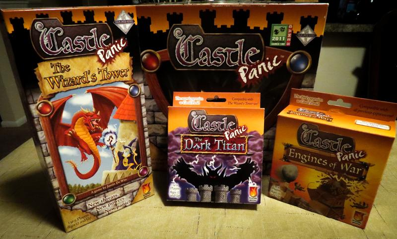 Castle Panic expansions review