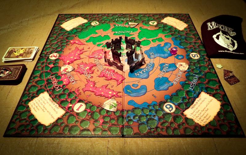 Munchkin Panic Review | Co-op Board Games