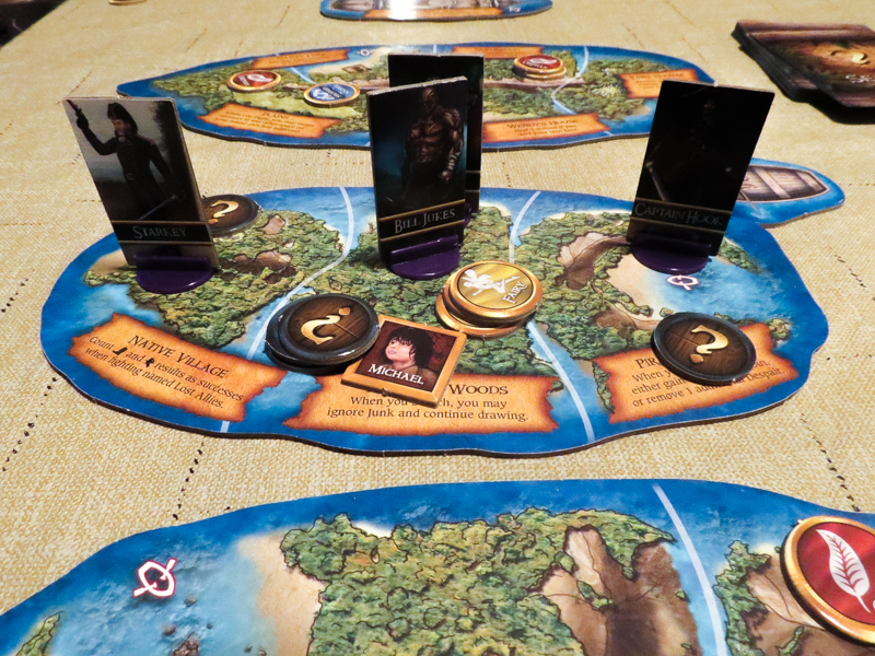 Neverland's Legacy review - Neverland board