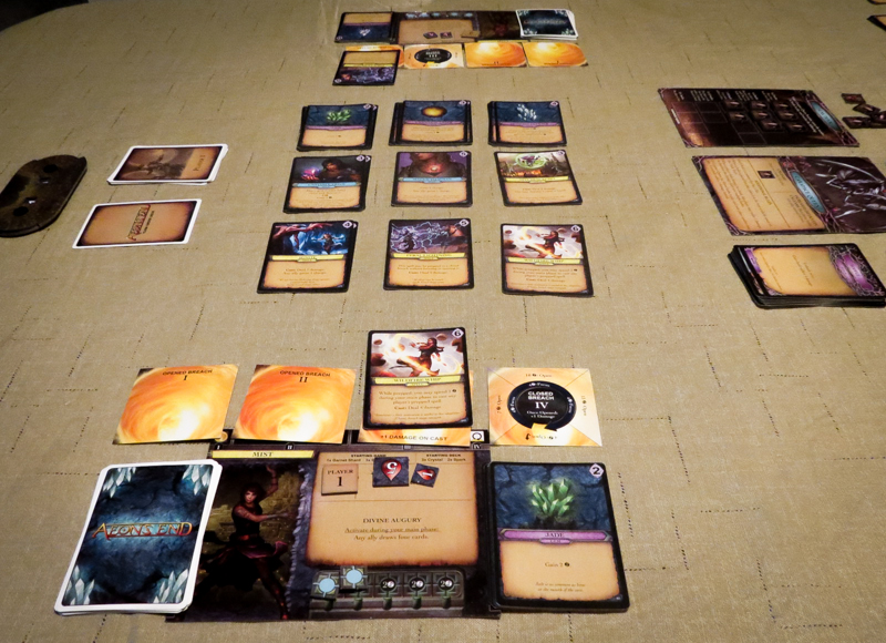 Aeon's End review - board