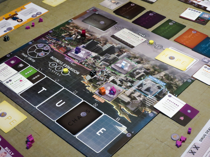 Hope City review - board