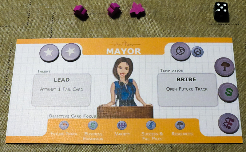 Hope City review - citizen card
