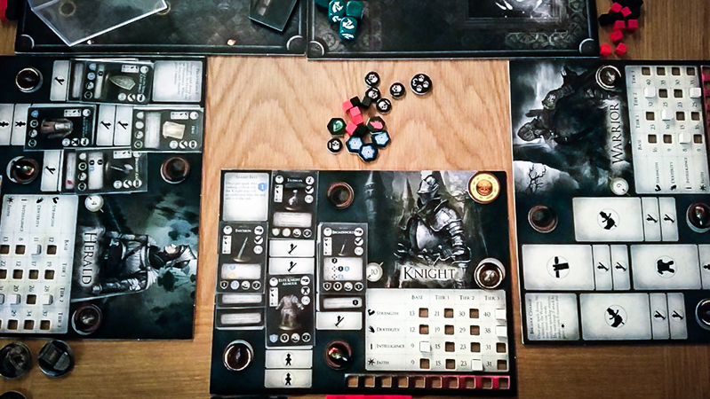 Dark Souls board game review - components