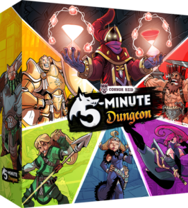 5-Minute Dungeon board game review