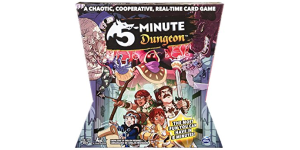5 minute dungeon real-time board game review