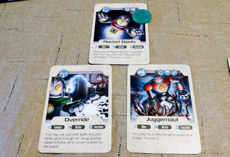 Jupiter Rescue review - Rescue Cards