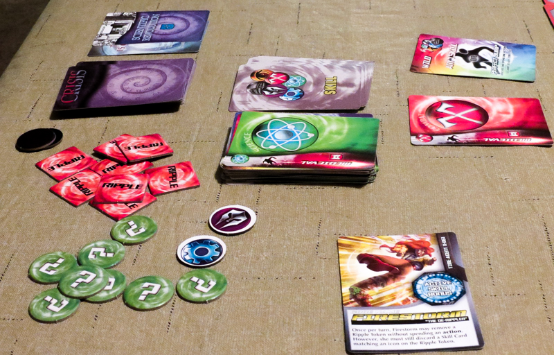 Saving Time review - cards and tokens