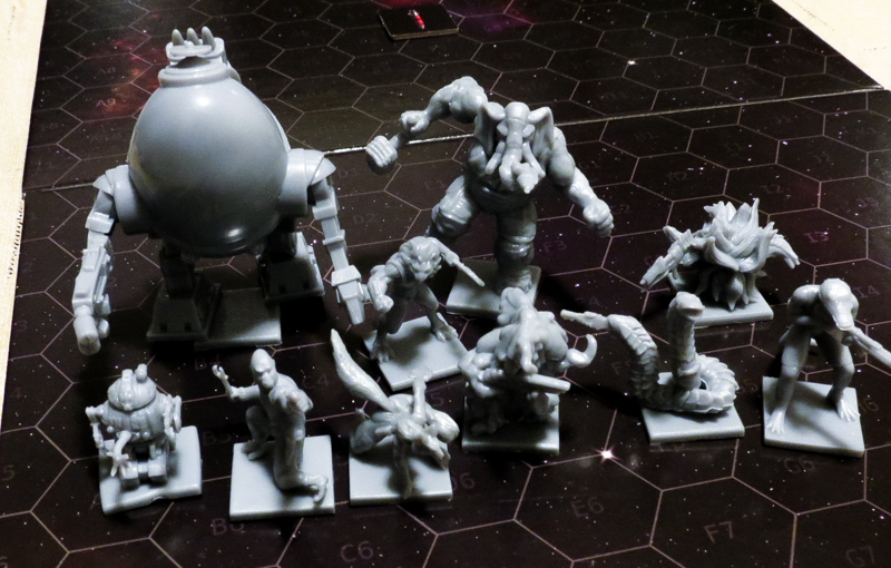 Battlestations Second Edition review - miniatures