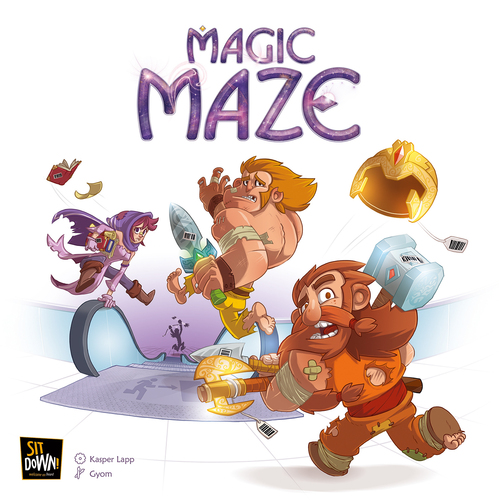 Magic Maze Review | Co-op Board Games image