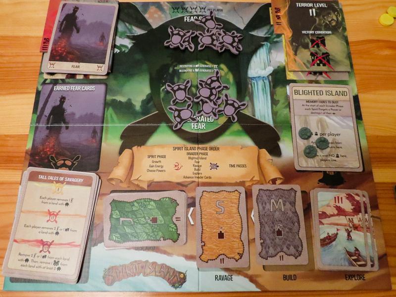 Spirit Island review - invader board