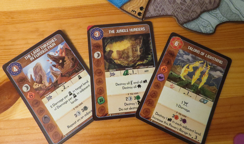 Spirit Island review - power cards