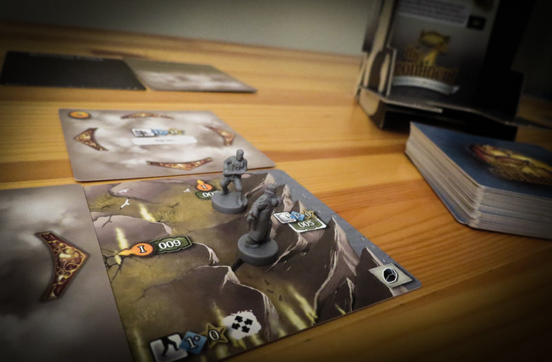 The 7th Continent review - characters and starting terrain