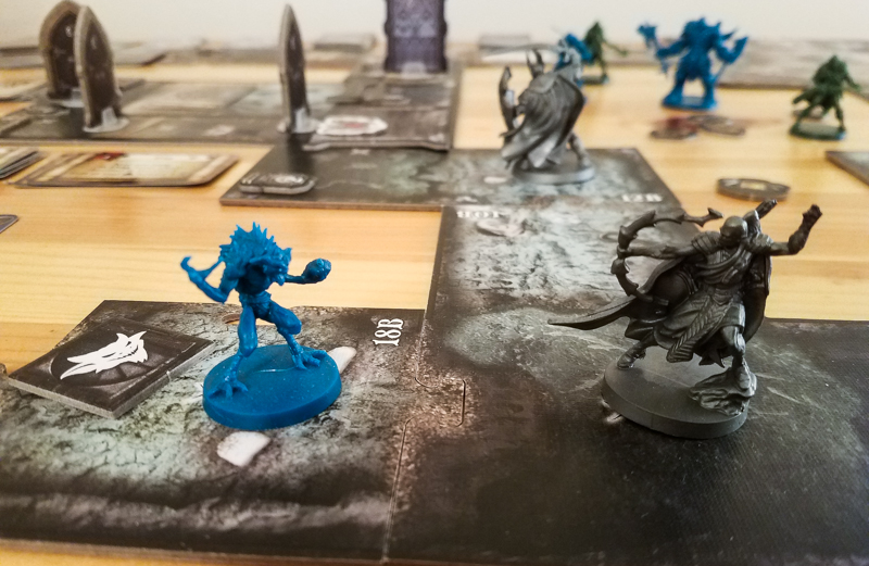 Sword & Sorcery review - shooting a gremlin