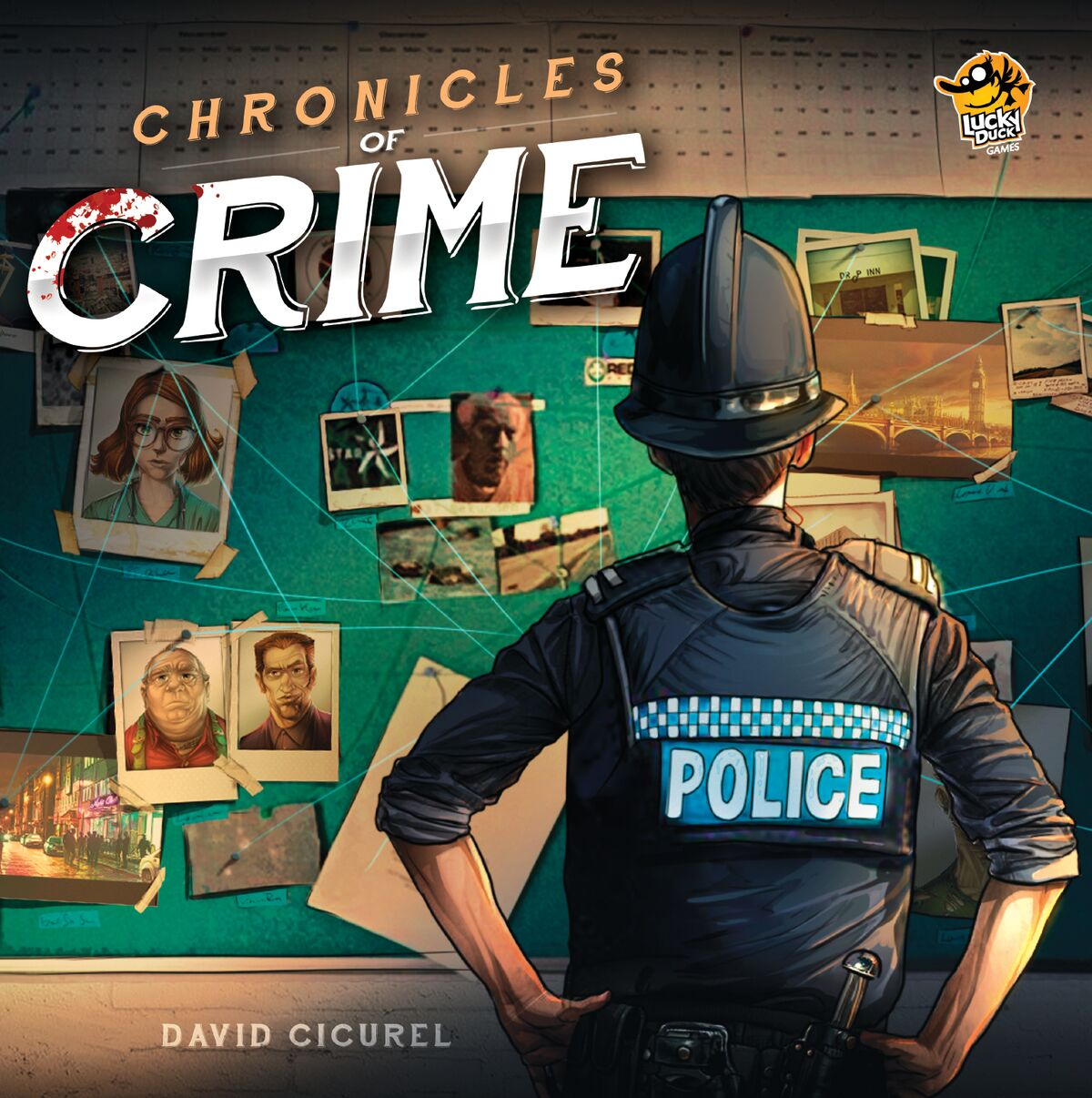 Chronicles of Crime Review | Co-op Board Games image