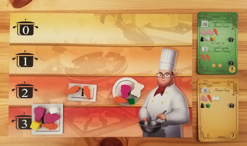 Kitchen Rush review - player mat