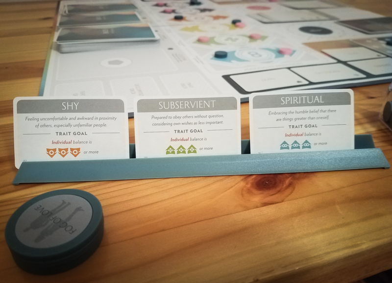 Fog of Love review - trait cards