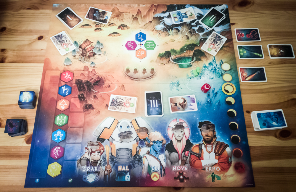 Rising 5 review - board setup