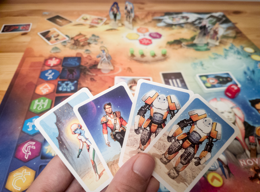 Rising 5 review - character cards